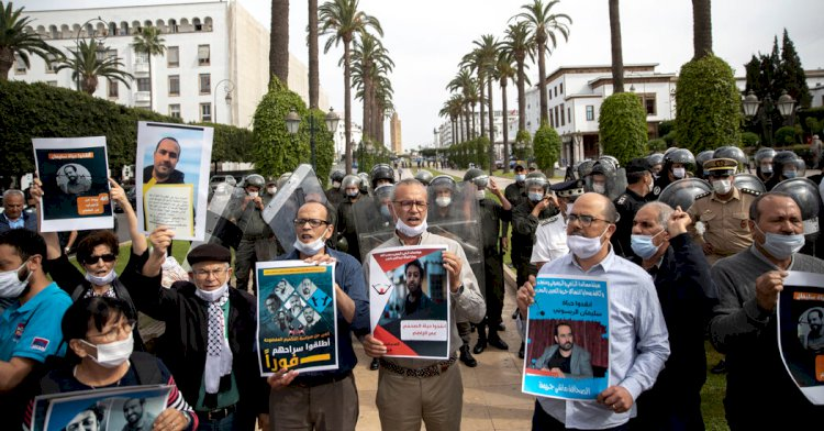 The Journalist's monthslong hunger strike points to perils of reporting in Morocco.