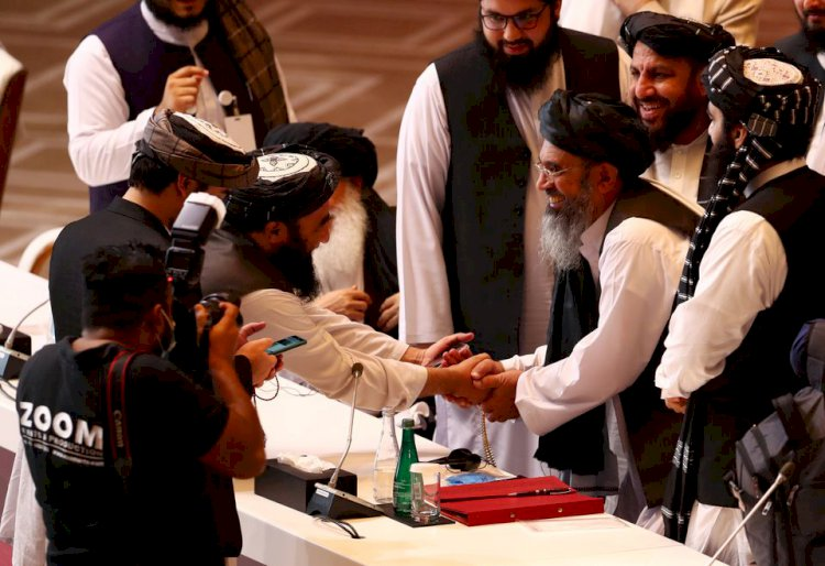 Report: Taliban Says Committed To Negotiation Path In Doha.