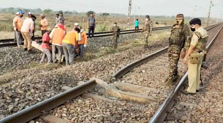 In Delhi Over 350 People Died on Railway Tracks This Year.
